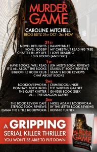 Murder Game - Blog Tour 2