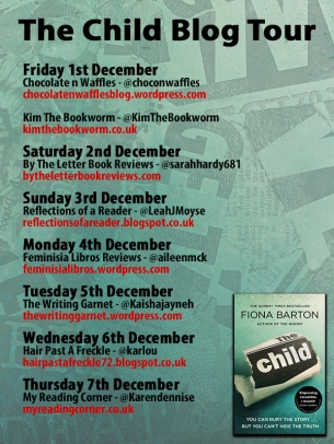 The Child PB blog tour poster 1