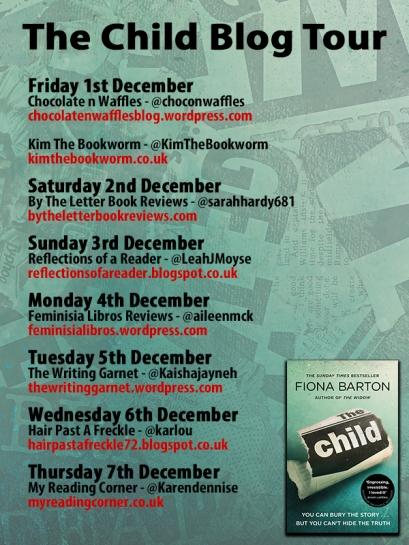 The Child PB blog tour poster 1