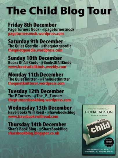 The Child PB blog tour poster 2