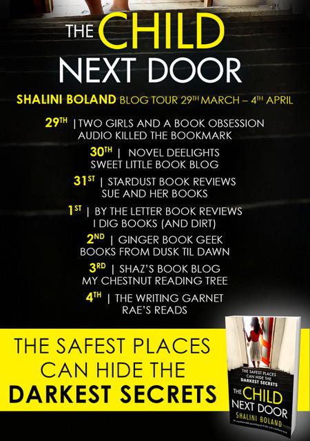 The Child Next Door - Blog tour