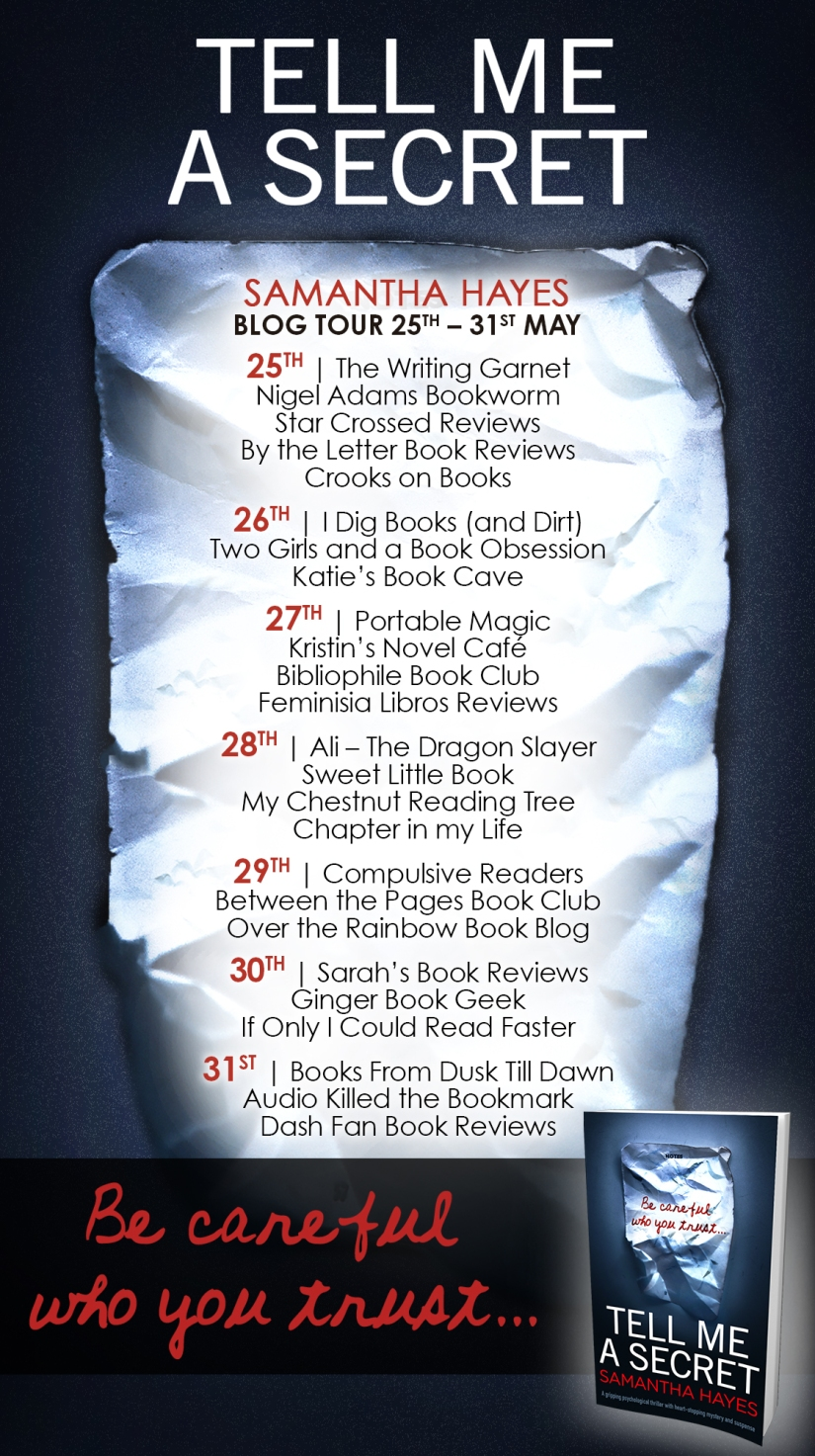 Tell Me A Secret - Blog Tour