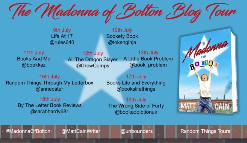 Madonna Of Bolton Blog Tour Poster