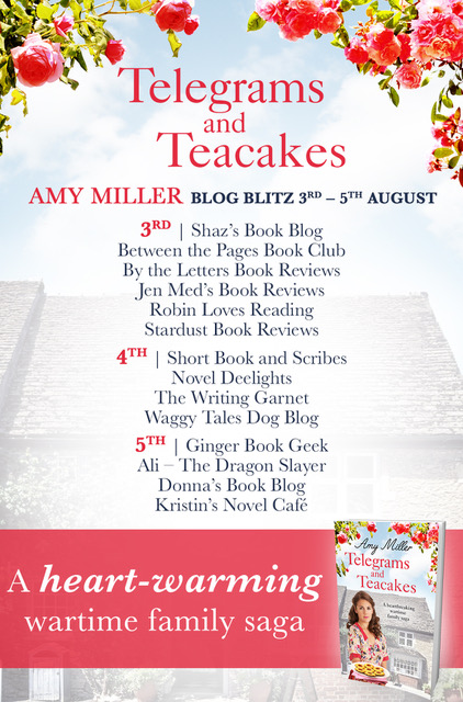 Telegrams and Teacakes - Blog Tour