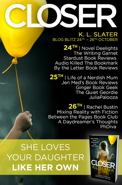 Closer - Blog Tour