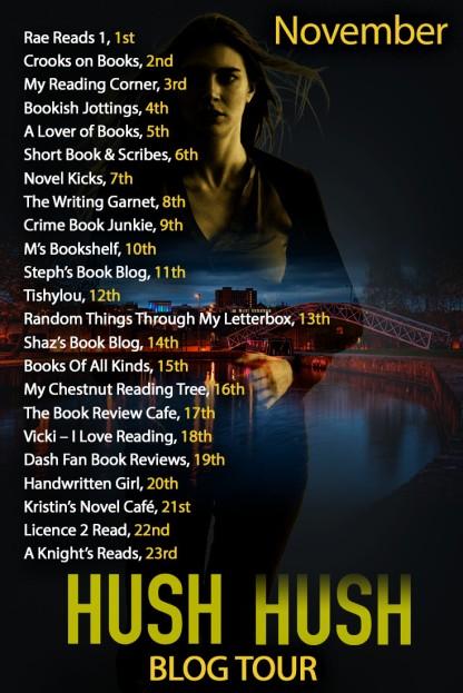 Hush Hush Blog Tour - November