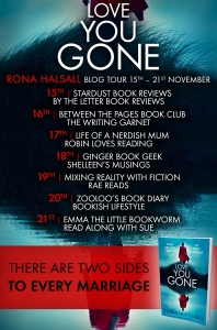 Love You Gone - Blog Tour