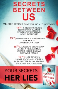 Secrets Between Us - Blog Tour