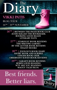 The Diary - Blog Tour