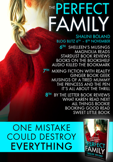 The Perfect Family - Blog tour