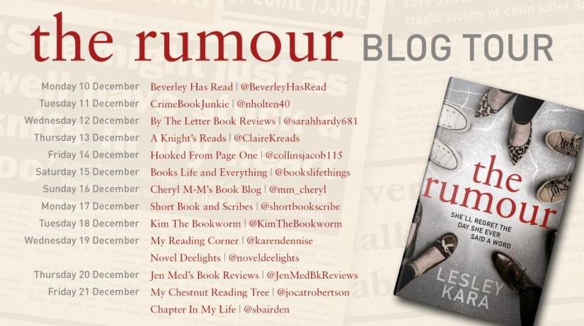 The Rumour Blog Tour Poster